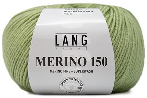 Lang Yarns Merino 150 097 Linden Green