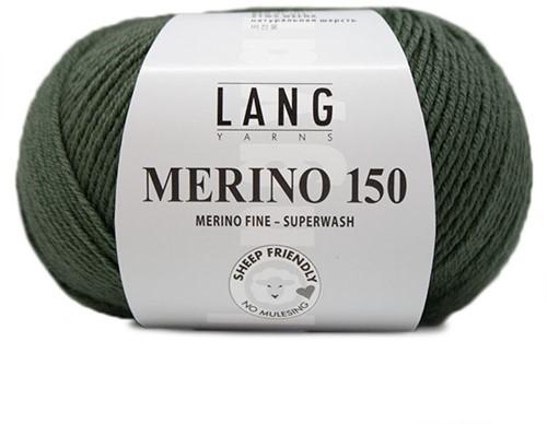 Lang Yarns Merino 150 098 Olive