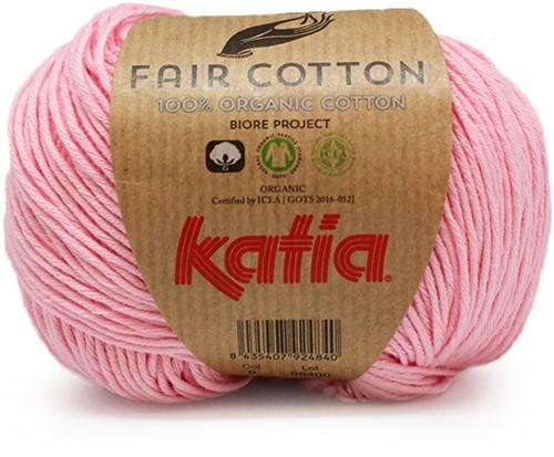 Katia Fair Cotton 09 Rose