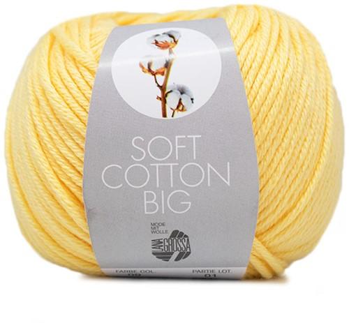 Lana Grossa Soft Cotton Big 9 Yellow