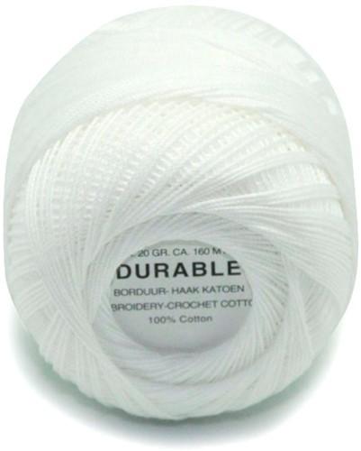 Durable Borduur- en haakkatoen 1000 White