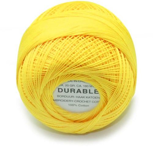 Durable Borduur- en haakkatoen 1009 Yellow