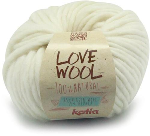 Katia Love Wool 100 Off White