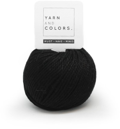 Yarn and Colors Must-have Minis 100 Black