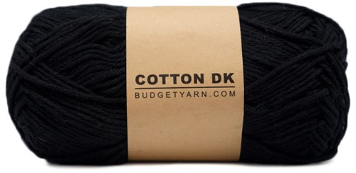 Budgetyarn Cotton DK 100 Black