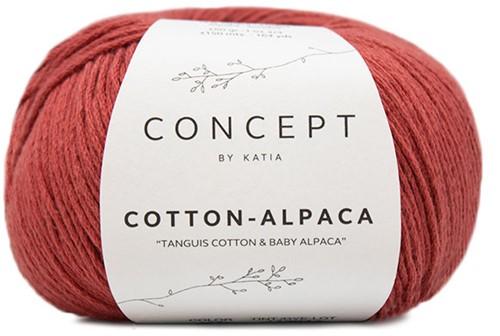 Katia Cotton Alpaca 100 Terra brown