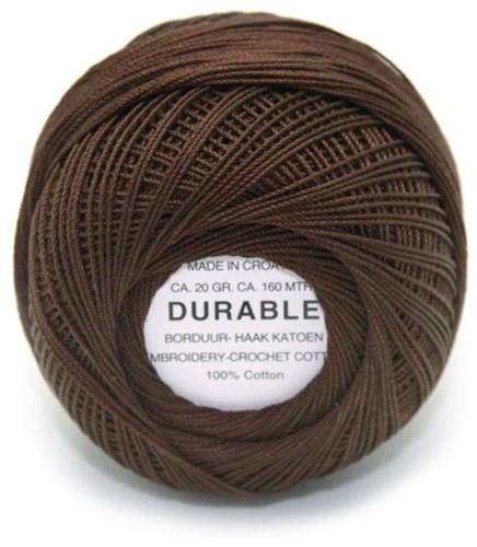 Durable Borduur- en haakkatoen 1012 Dark Brown