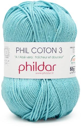 Phildar Phil Coton 3 1463 Cyan