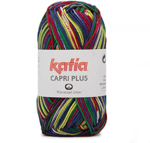 Katia Capri Plus 101 Multicolour Pistachio