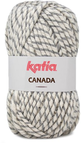 Katia Canada 103 Grey - Off white