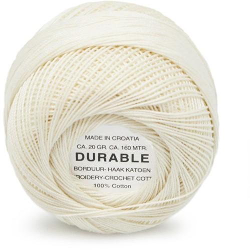 Durable Borduur- en haakkatoen 1043 Cream