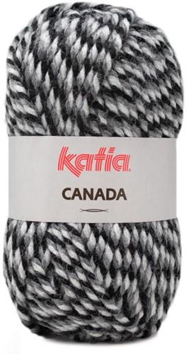 Katia Canada 105 Black - Dark grey - Grey