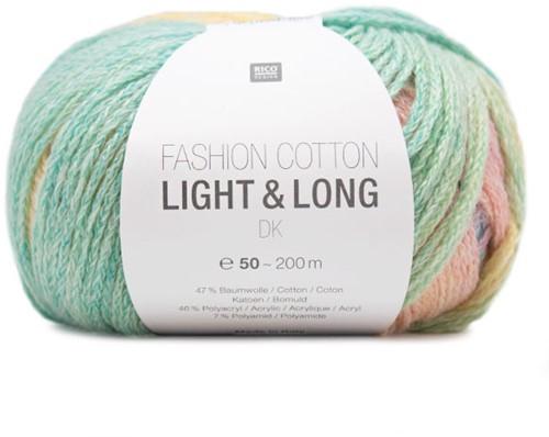 Fashion Cotton Light & Long Vest Breipakket 1 42/46 Multicolor