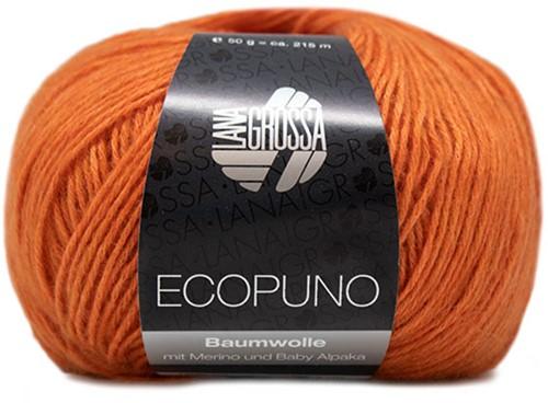 Ecopuno Sjaal Haakpakket 2 Orange