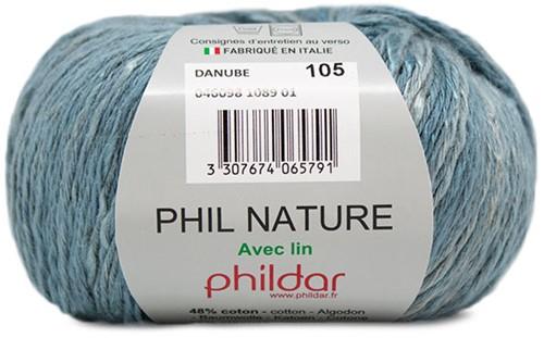 Phildar Phil Nature 1089 Light Blue