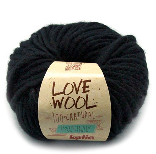 Katia Love Wool 108 Black