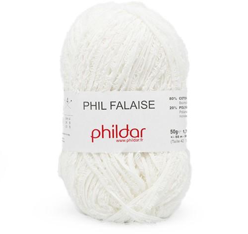 Phildar Phil Falaise 1225 Blanc