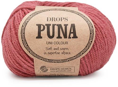 Drops Puna Uni Colour 10 Oudroze