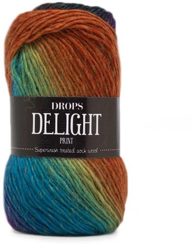 Drops Delight 10 Olive-rust-plum