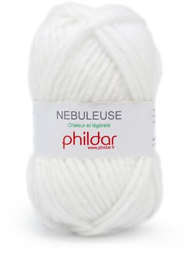 Phildar Nebuleuse 1225 Blanc