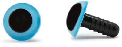 Veiligheidsogen Blauw 10mm per paar