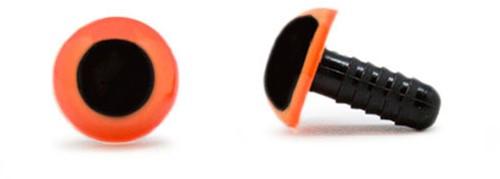 Veiligheidsogen Oranje 10mm per paar