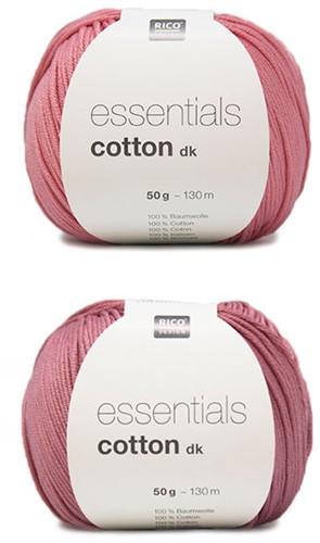 Essentials Cotton Vrolijke Zomertop Breipakket 1 Pink