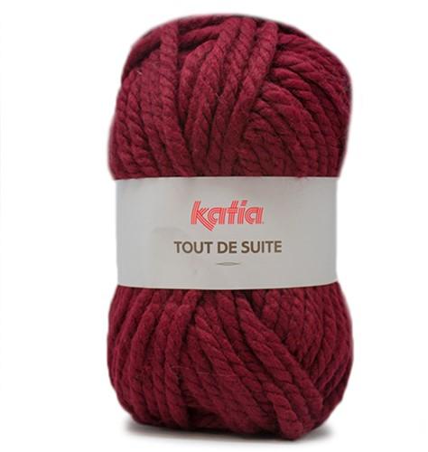 Katia Tout de Suite 113 Burgundy red
