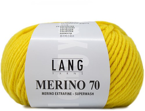 Lang Yarns Merino 70 113 Yellow
