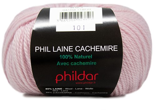 Phildar Phil Laine Cachemire 1149 Pétale