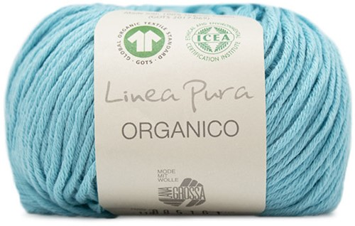 Lana Grossa Organico Uni 115 Turquoise