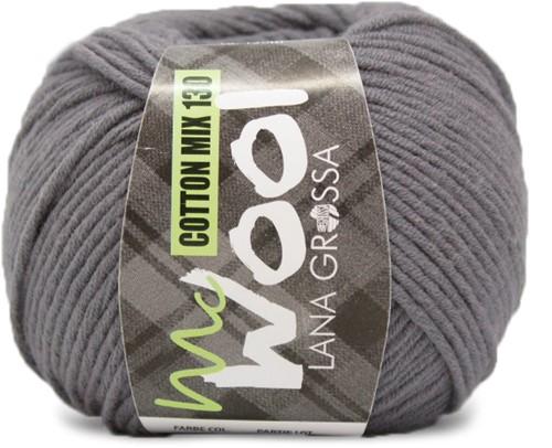 Lana Grossa Cotton Mix 130 115 Gray