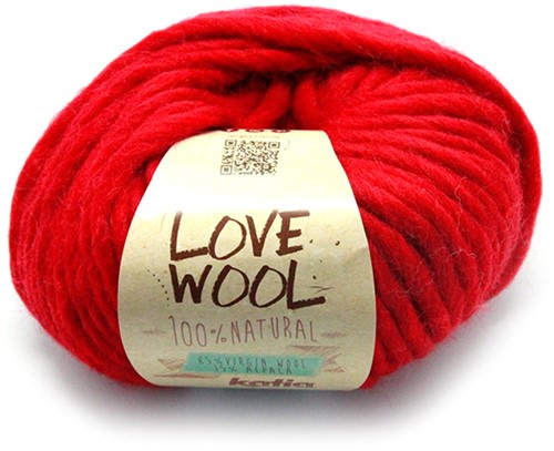 Katia Love Wool 115 Red