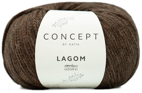 Katia Lagom 116 Fawn brown