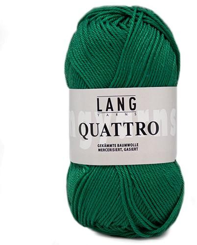 Lang Yarns Quattro 118 Green