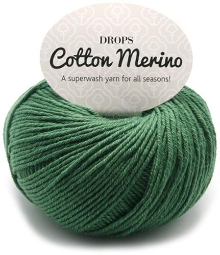 Drops Cotton Merino Uni Colour 11 Bosgroen