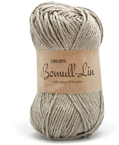 Drops Bomull-Lin Uni Colour 11 Beige