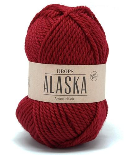 Drops Alaska Uni Colour 11 Dark-red
