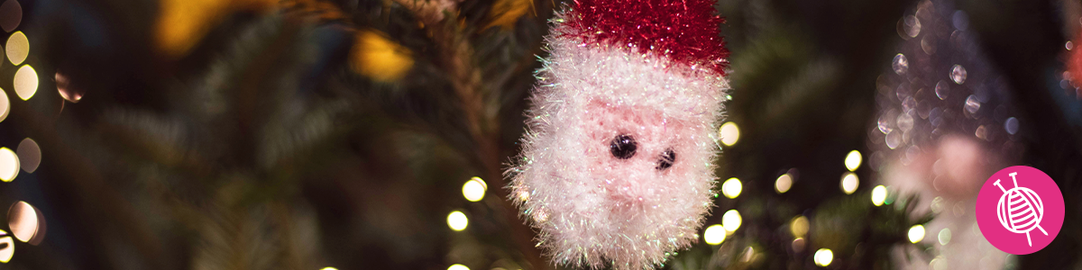 Gehaakte kerstballen met Rico Creative Bubble