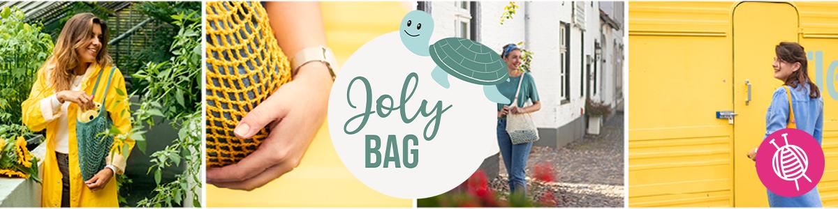 Joly bag - duurzame markttas voor het Wereld Natuur Fonds