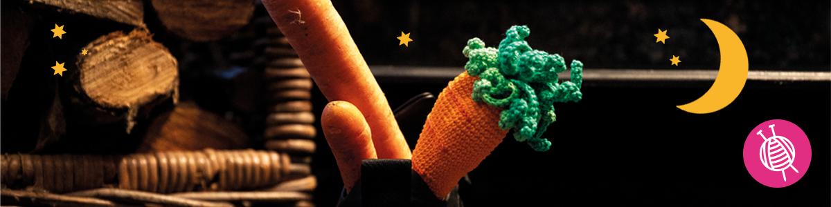 Schoencadeau wortel   Gratis haakpatroon