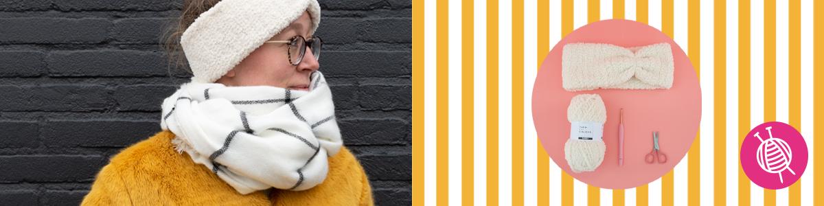 Furry Hoofdband - gratis haakpatroon