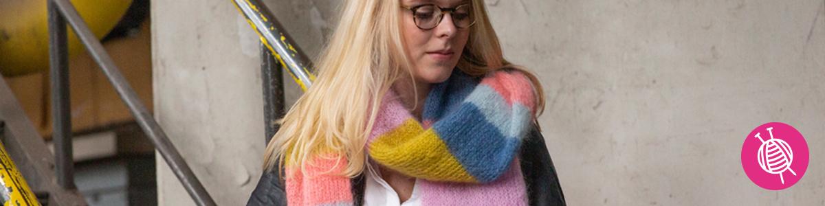Ingenua sjaal - gratis breipatroon