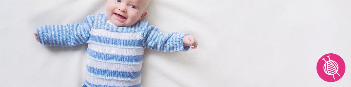 Babytrui breien van Essentials Cotton