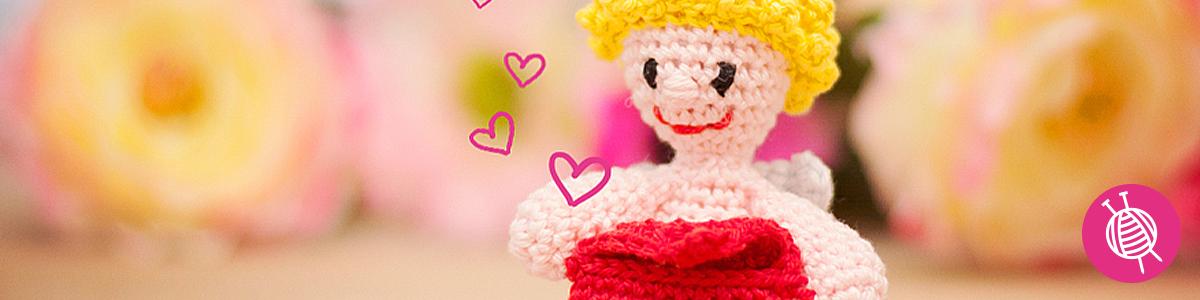 Cupido haken voor Valentijn