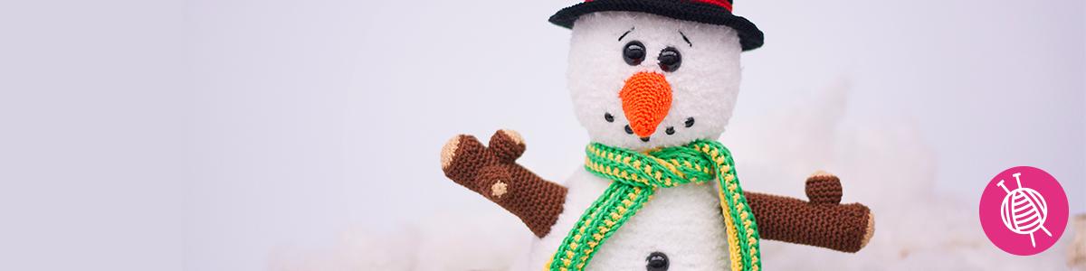 Sneeuwpop haken - Haak aan!