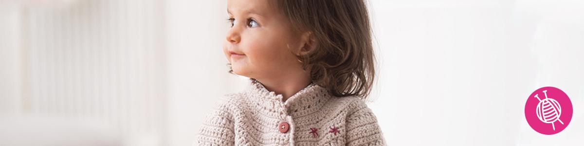 Cool Wool meisjes vest - Gratis haakpatroon