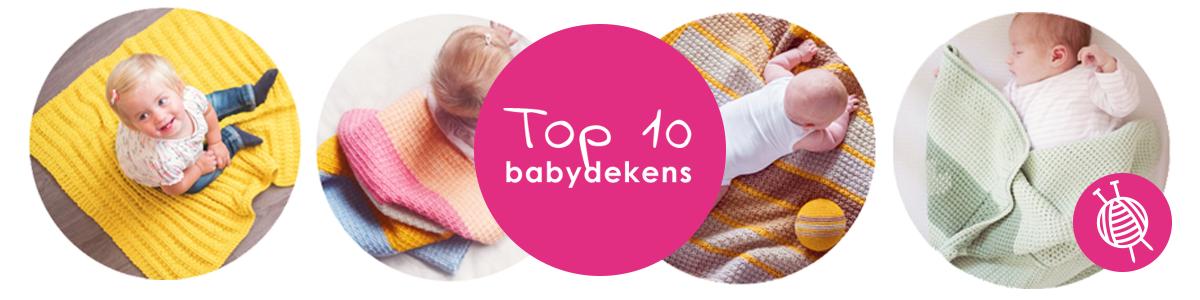 Babydekens - top 10 haak- en breipatronen