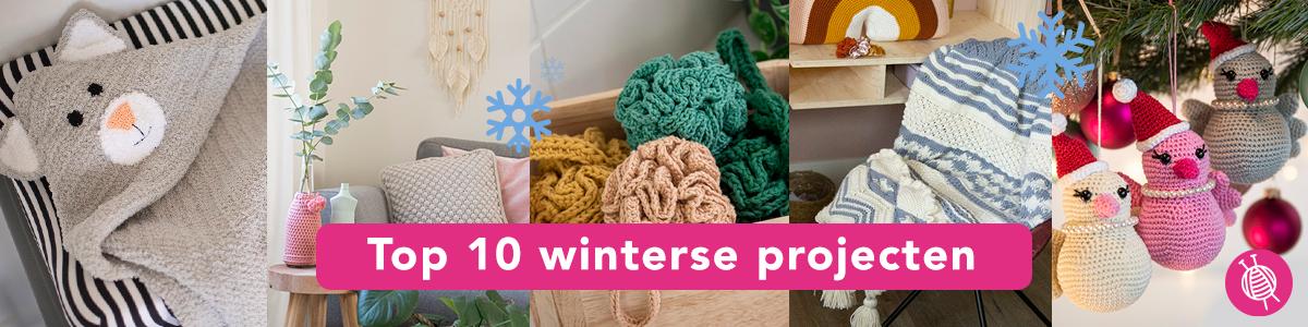 Top 10 winterse projecten | inspiratie om te handwerken