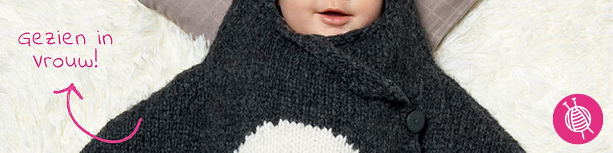 Baby breipatronen in VROUW magazine